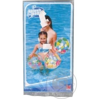 Мяч Bestway пляжный дизайнерский 41см - купить, цены на Фуршет - фото 1