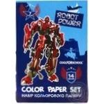 Набір кольорового паперу Cool for school 14 аркушів