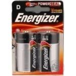 Батарейка Energizer Alk Power D 2шт