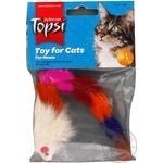 Іграшка Topsi для тварин Миша пухнаста Art.1601 х6 - купити, ціни на МегаМаркет - фото 1