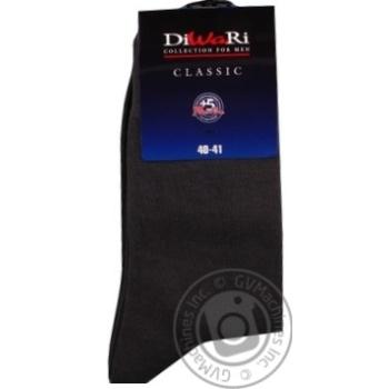 Носки мужские Diwari Classic темно-серый размер 25 - купить, цены на СитиМаркет - фото 4