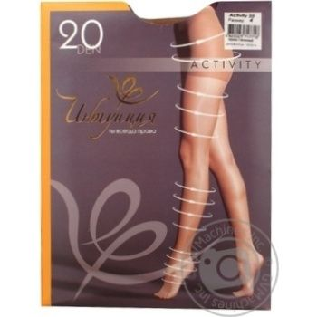 Tights Intuitsia corporal polyamide for women 20den 4size