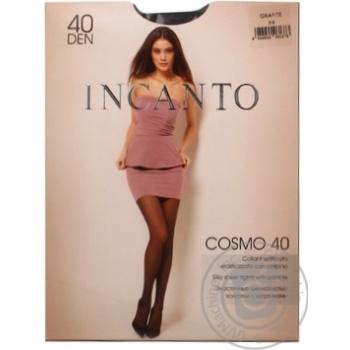 Колготки жіночі Incanto Cosmo 40 grafite 2