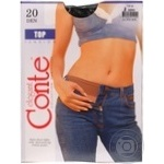 Conte Top 20 den Nero Tights for Women Size 2 - buy, prices for CityMarket - photo 2
