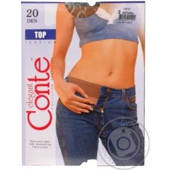 Колготы Conte Top 20 Den р.2 natural шт - купить, цены на Novus - фото 3