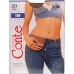 Колготы женские Conte Top 20ден р.4 Natural - купить, цены на СитиМаркет - фото 2