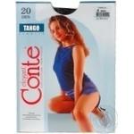 Колготы женские Conte Tango 20 den 4 nero