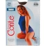 Колготы женские Conte Tango 20ден р.4 Mocca