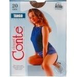 Колготы женские Conte Tango 20 den 4 bronz