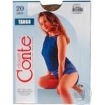 Колготи жiночi Tango Conte 20 розмiр 3 bronz