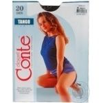 Колготи жін.Conte Tango 20 р.4 Grafit