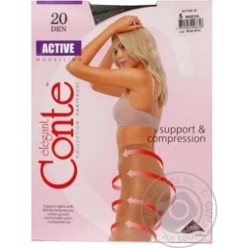 Колготы Conte Active 20 Den р.5 mocca шт - купить, цены на МегаМаркет - фото 1