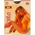Колготи жiночi Solo Conte 20 розмiр 4 bronz - купити, ціни на Novus - фото 3