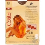 Tights Conte Solo bronze polyamide for women 20den 4size - buy, prices for Novus - image 2
