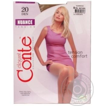 Колготы Conte Nuance 20 Den р.5 natural шт