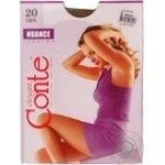 Tights Conte Nuance bronze polyamide for women 20den 3size