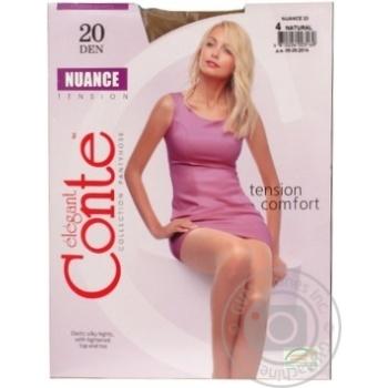 Колготы Conte Nuance 20 Den р.4 natural шт