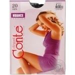 Tights Conte Nuance nero polyamide for women 20den 4size
