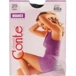 Tights Conte Nuance nero polyamide for women 20den 2size