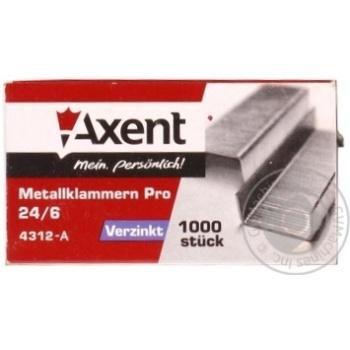 Axent PRO 24/6 Staples Refills 1000pcs - buy, prices for Metro - image 3
