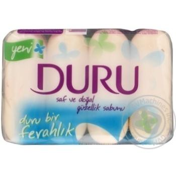 Мило Duru Pure and Natural екопак Класичне 4*85г - купить, цены на Novus - фото 4