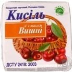 Кисель вишня для десертов 160г Украина