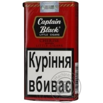 Сигари Captain Black LC Cherise 20шт - купить, цены на Novus - фото 8