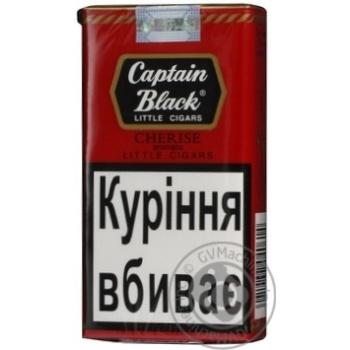 Сигари Captain Black LC Cherise 20шт - купить, цены на Novus - фото 1