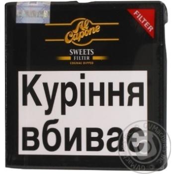Сигара Al Capone Sweets Filter - купить, цены на Novus - фото 6