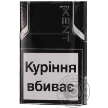 Kent Nano White cigarettes 0.1-0.8mg - buy, prices for Novus - image 1