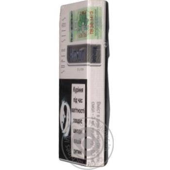 Сигареты Winston Silver Super slim - купить, цены на Фуршет - фото 3