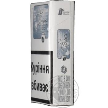 Цигарки Прима Люкс cрібна - купити, ціни на CітіМаркет - фото 2
