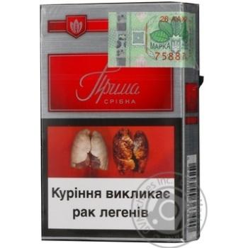 Сигареты Прима Серебряная красная - купить, цены на Фуршет - фото 6