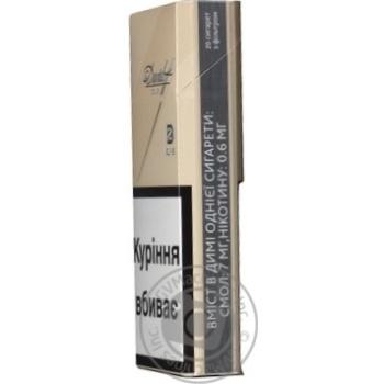 Davidoff Gold Slims Cigarettes - buy, prices for CityMarket - photo 2