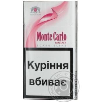 Цигарки Монте карло 20шт 25г Швейцарія