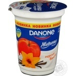 Yogurt Zhivinka with vanilla chilled 1.5% 340g plastic cup Ukraine