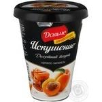 Йогурт Дольче Искушение Абрикос-Карамель 2.5% 330г пластиковый стакан Украина