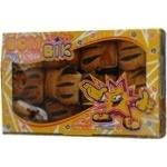 Печиво листкове Бом-Бік Шалене з чорносливом 400г