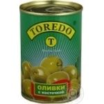 olive Toredo green with bone 300ml Spain