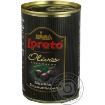 Маслини Loreto без кісточки консервовані стерилізовані 300г - купить, цены на Novus - фото 4