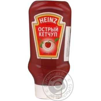 Кетчуп Heinz Гострий 500г