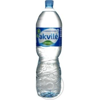 Вода Аквиль негазированная пластиковая бутылка 1500мл Литва - купить, цены на Novus - фото 3