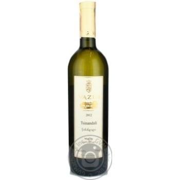 Вино Schuchmann Wines Georgia Vazisi Tsinandali белое сухое 13% 0,75л - купить, цены на Novus - фото 1