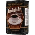 Кава смажена мелена Induban Гоурмет в/у 250г