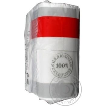 Бумага туалетная Marka Promo двухслойная 4шт - купить, цены на Novus - фото 5