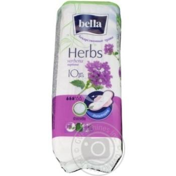 Прокладки гігієнічні Bella Herbs verbena drainette 10шт.