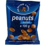 Snack peanuts Zolotyy horikh salt salt 100g