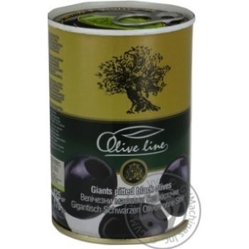 Маслины черные Olive Line большие без косточки 420г - купить, цены на Novus - фото 5