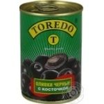 olive Toredo black with bone 300ml