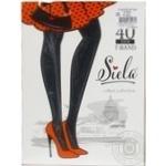 Колготи жіночі Siela T-Band 40 nero-5 - купити, ціни на Novus - фото 1